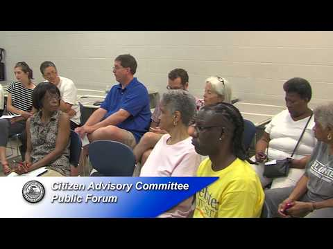 Citizen Advisory Committee July 8th 2017