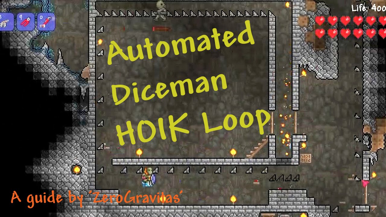 small resolution of terraria hoik guide closing the rapid transport loop with automation youtube