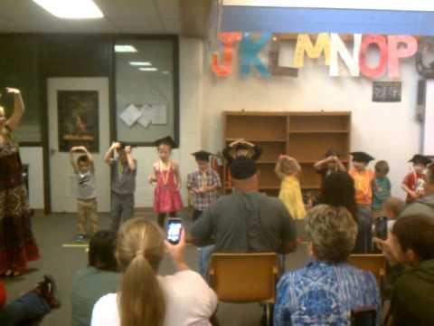 Sarah's Preschool Graduation from James Morris School 6/14/2013