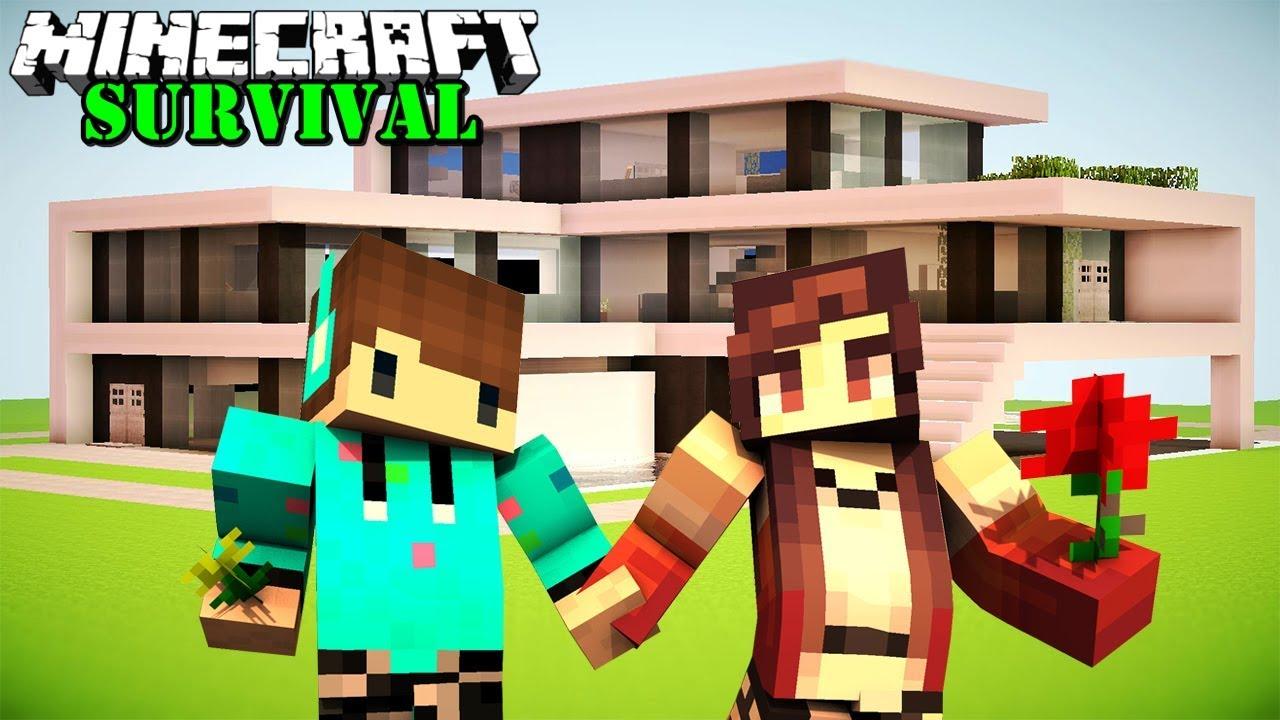 MEMBUAT RUMAH MEWAH UNTUK ISTRI ! Minecraft Survival #56