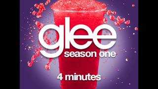 Glee - 4 Minutes [LYRICS]