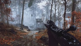 Incredible Sniper Gameplay from WW2 FPS Game Battlefield 5