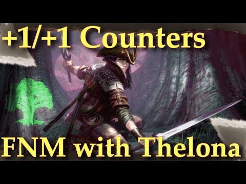 Friday Night Magic Duels | Mono Green +1/+1 Counters Gameplay | MtG Counters
