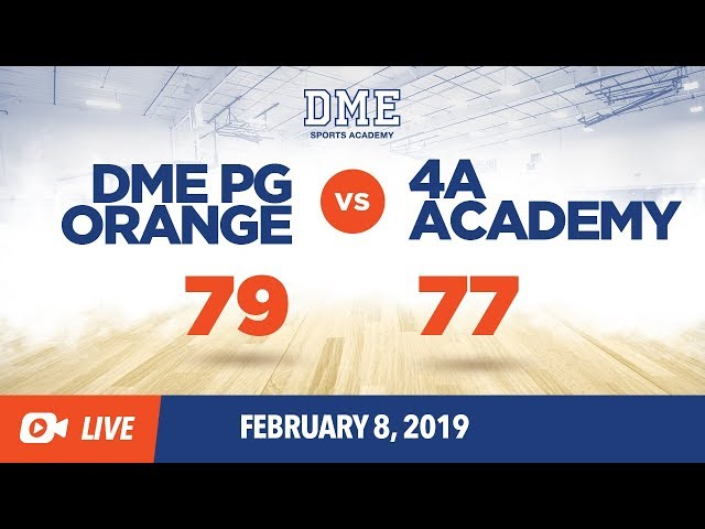 DME Orange vs. 4A Academy