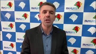 Presidente da Famurs comunica mudanças no sistema de Bandeiras do RS