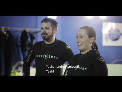 Underwater Blind Dating: First Dives With Blue Planet Aquarium