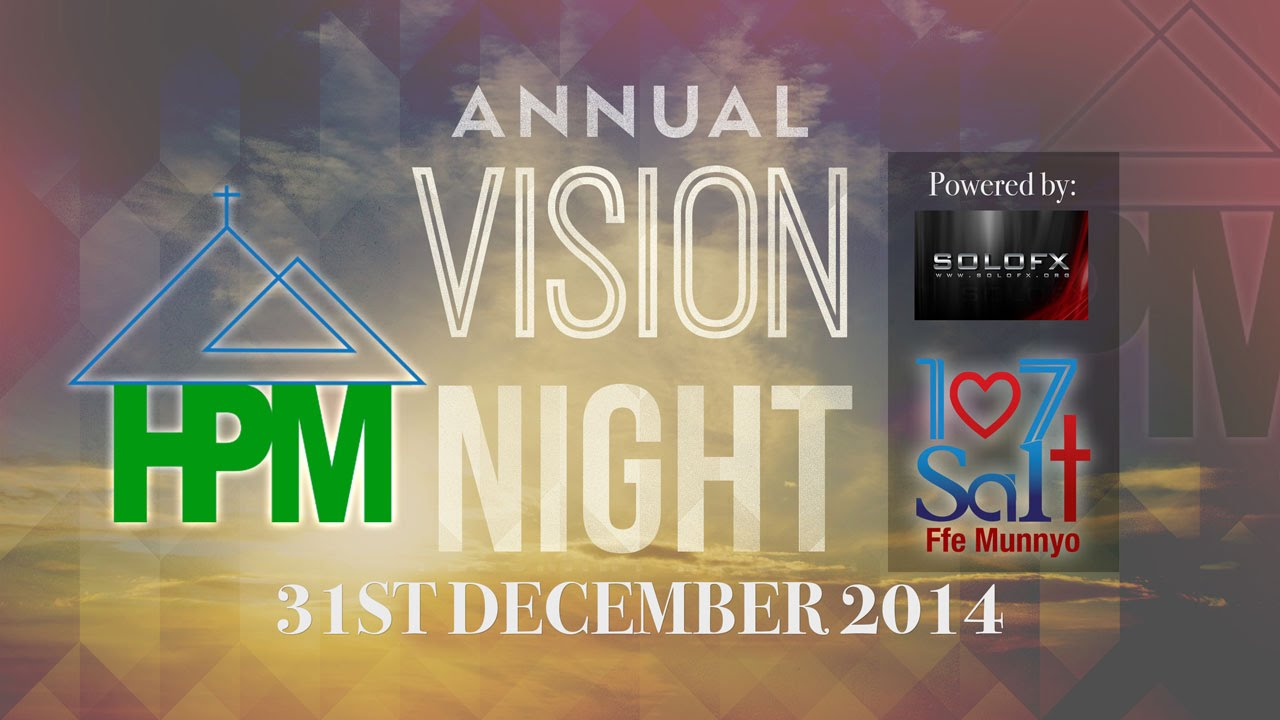 vision night 2014/15 - youtube