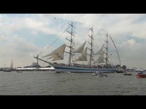 Amsterdam .  Sail 2015.   Sail in.....