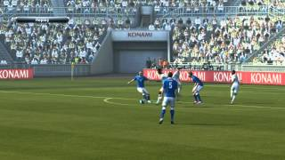 Pro Evolution Soccer 2013 DEMO PC GAMEPLAY (England-Italy)