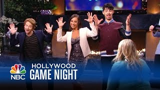 Joe Jonas, Michelle Trachtenberg, & More Have a Dance in Their Pants - Hollywood Game Night