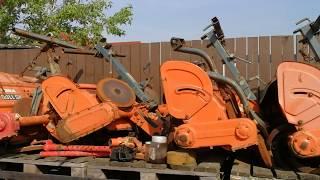 Sprzedaż glebogryzarek do traktorków japońskich. www.akant-ogrody.pl