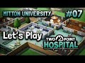 Let's Play Two Point Hospital – Mitton University – Research and Development – Part 7