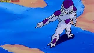 Vegueta asusta a freezer con la llegada de Gku el legendario súper sayayin #dragón_ball_z 1080p