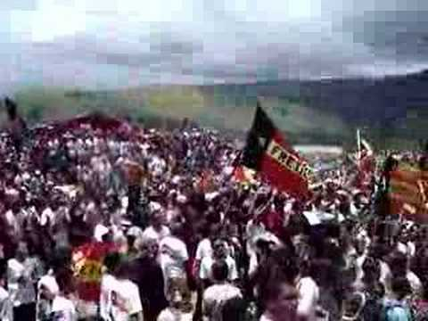 Lu Olo supporters rock and roll at Dili rally (Clip 1 of 2)
