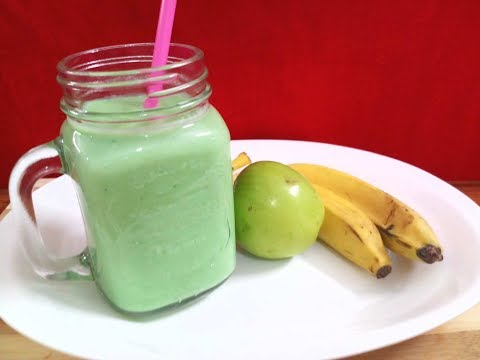 Apple Banana Smoothie / Healthy Breakfast Smoothie / Healthy Juice Recipe/quick Smoothie