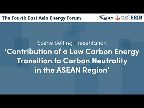 ERIA | The 4th East Asia Energy Forum - Scene Setting Presentation by Prof Jun Arima