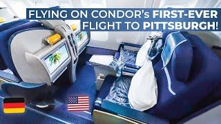 TRIPREPORT | Condor (BUSINESS CLASS) | Frankfurt - Pittsburgh | Boeing 767-300