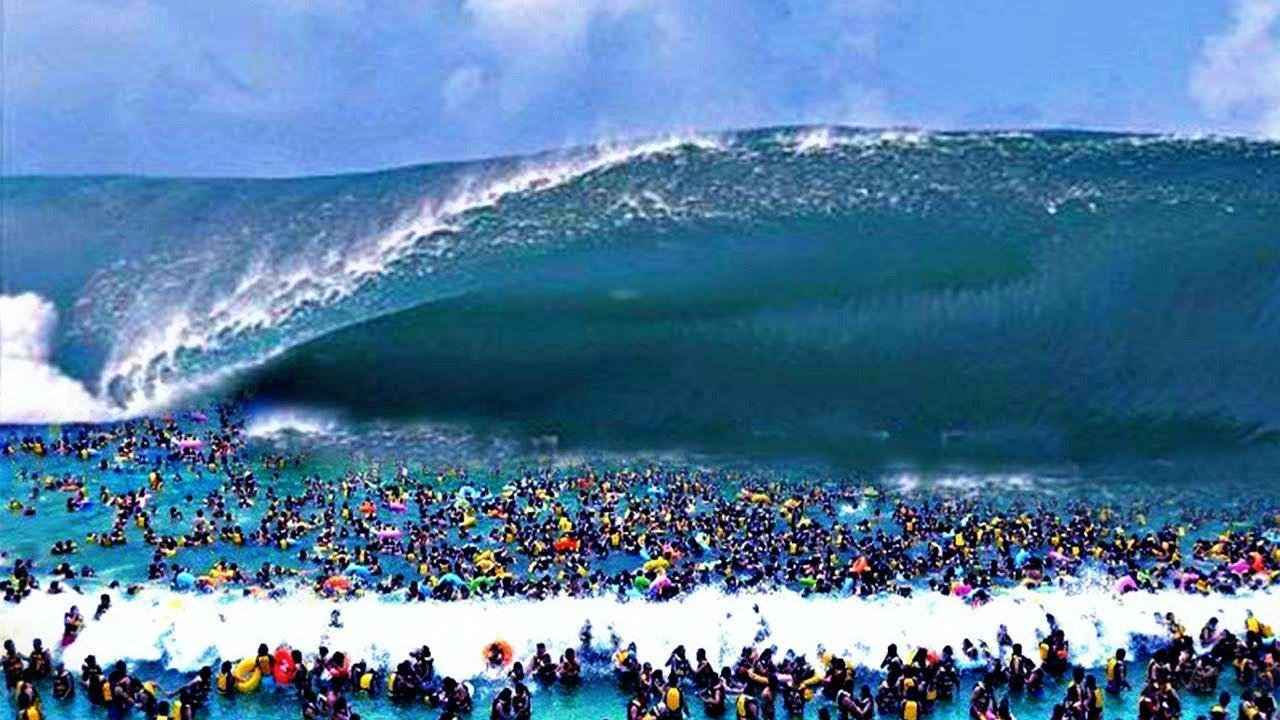 Os Maiores Tsunamis Já Registrados em Vídeo - YouTube