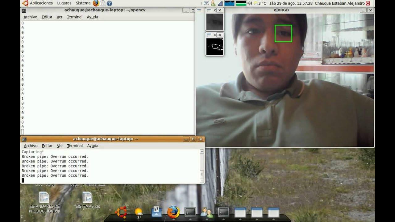 Opencv Eye Tracking