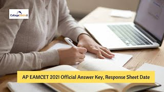 AP EAMCET (EAPCET) 2021 Official Answer Key, Response Sheet Date