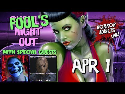 FOOL'S NIGHT OUT LIVESTREAM #8 💀 w/ Danny, Jackula, & Jason in DRAG! - April Fool's Day Edition