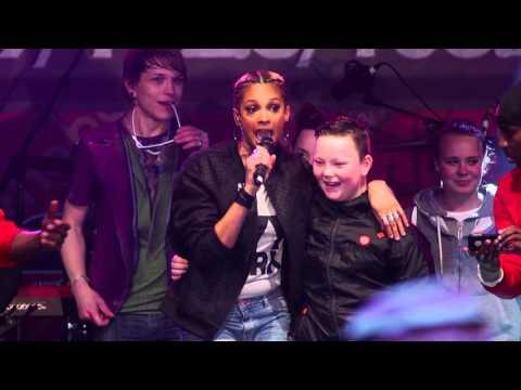 Alesha Dixon - Boy Does Nothing - with The Bay Radio at Morecambe Carnival