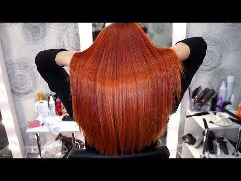 Ламинирование волос оллин видеоурок