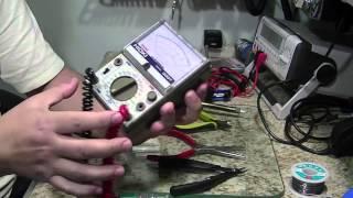 Instrumentos e Ferramentas básicas para bancada de eletrônica