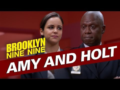 Amy and Holt | Brooklyn Nine-Nine