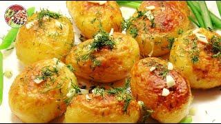 Долгожданная молодая картошечка. И варёная и жареная. Просто, вкусно, недорого.
