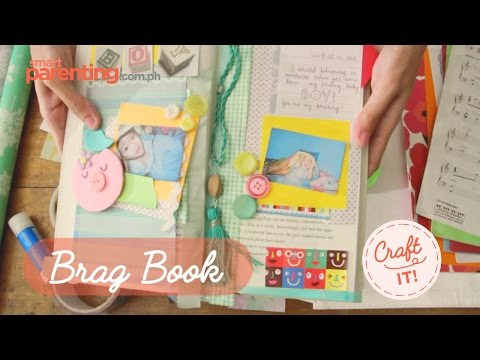 Craft It! DIY Baby Brag Book