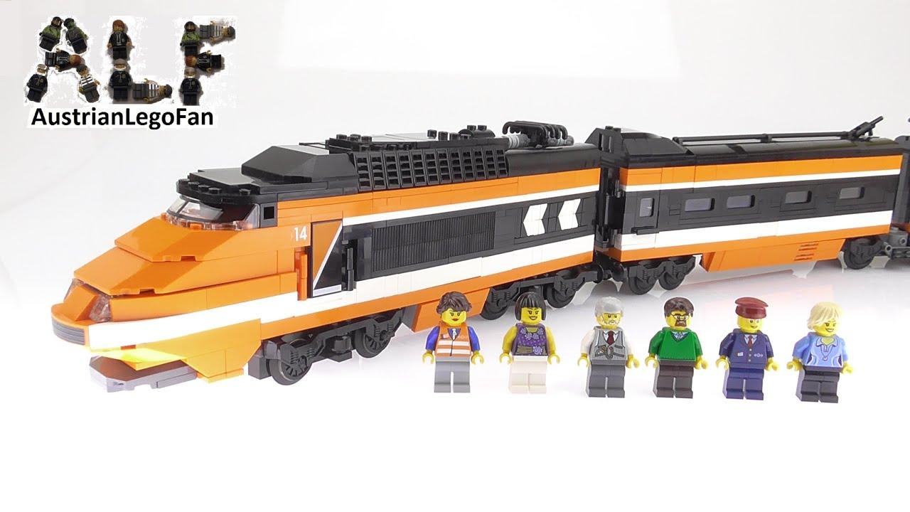 Lego Creator 10233 Horizon Express - Lego Speed Build Review