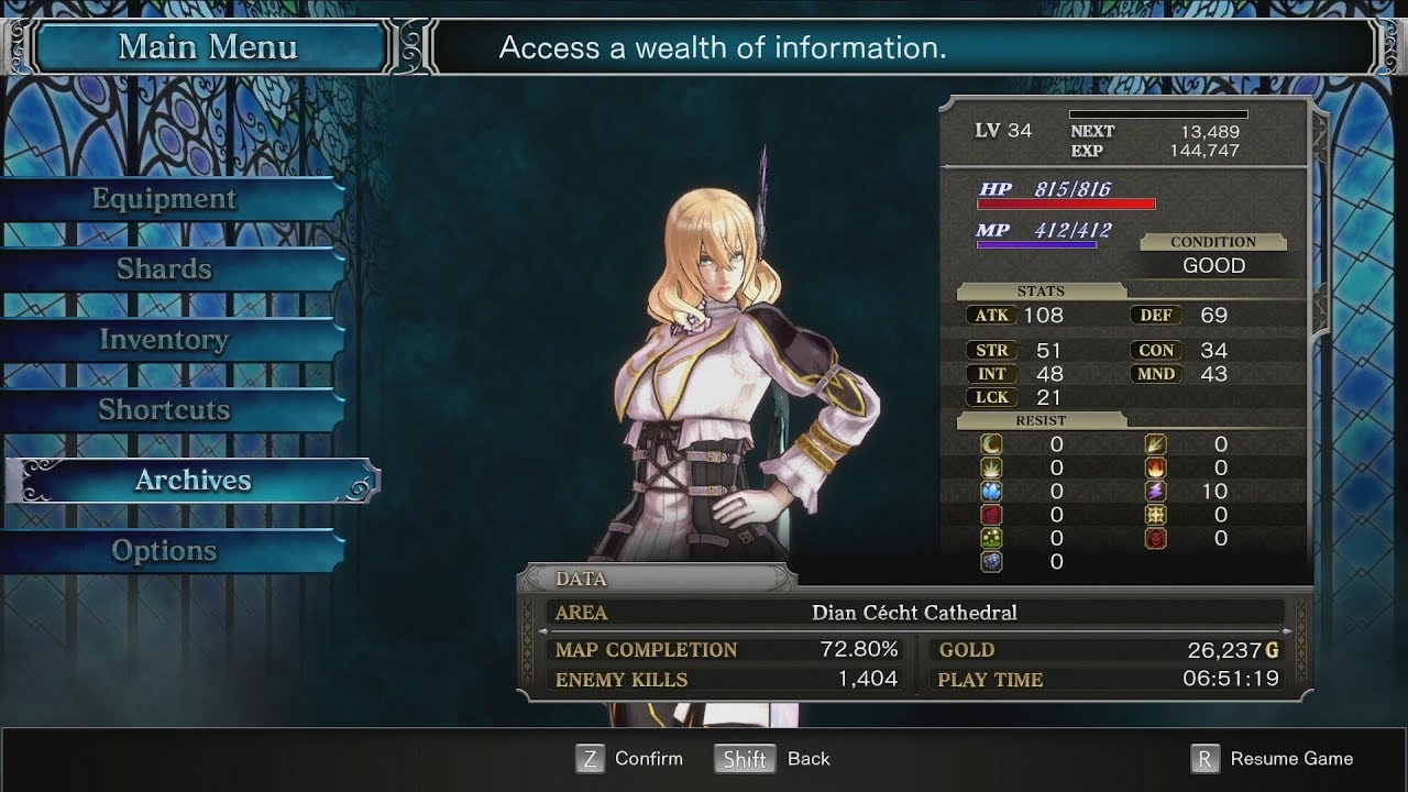 ▷ Bloodstained: Ritual Of The Night – How to get the Pure
