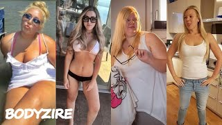 10 Amazing Weight Loss Motivation You Must See - Women Weight Loss Before And After Transformations