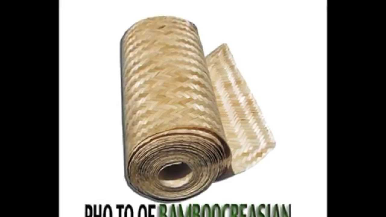 Bamboo ceiling decor bamboo matting ceilings covering bamboo ceiling decor bamboo matting ceilings covering designtropicalbambooceilingpanels tiles plank youtube dailygadgetfo Images