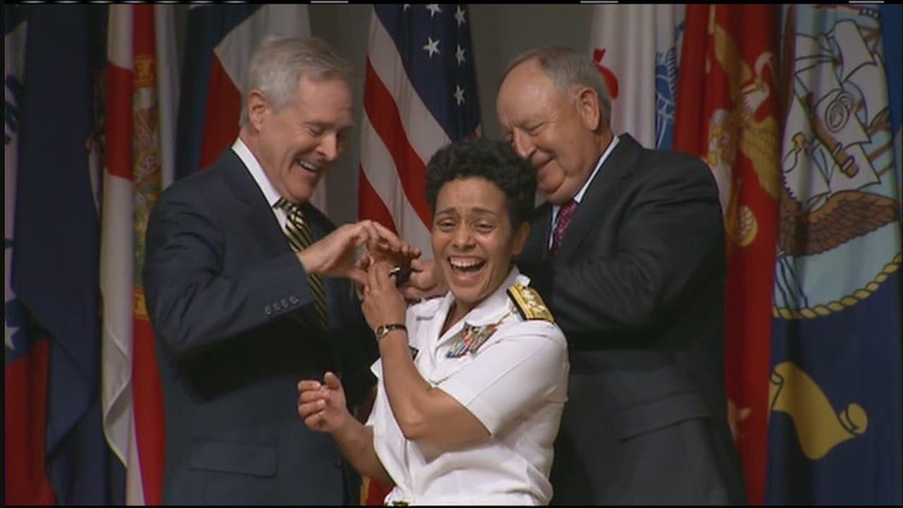 Gateway High School Graduate Michelle Howard Is The Navys -7355