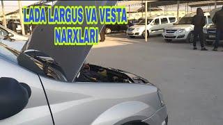 LARGUS VA VESTA NARXLARI 2 декабря 2019 г. UZLIDER
