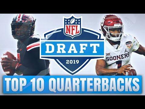 Top 10 Quarterbacks in the 2019 NFL Draft