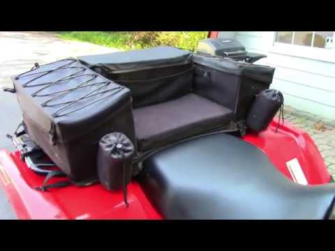 Atvtogether Quadboss Atv Rear Seat Review By Atvtogether