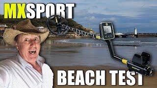 4K video: MX Sport beach test - Gold ring & silver?