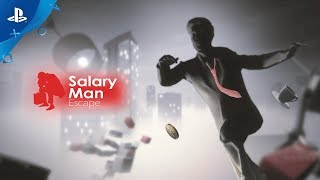 Salary Man Escape - Regular Mode Launch Trailer | PS4, PS VR