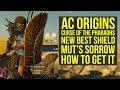 Assassin's Creed Origins Best Shield NEW MUT'S SORROW Curse of the Pharaohs (AC Origins Best Shield)