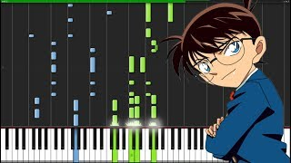 Case Closed - Detective Conan [Piano Tutorial] (Synthesia) // pianoten