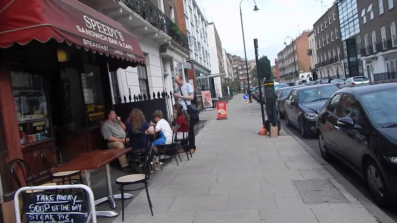187 North Gower aka 221B Baker Street - YouTube