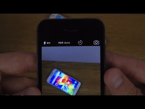 iPhone 5S iOS 8 - Camera Self Timer Review