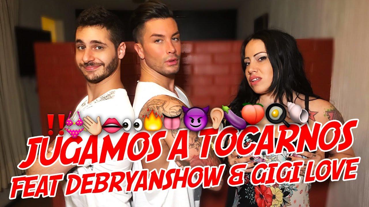 Actrices Porno Youtubers jugamos a tocarnos feat debryanshow & gigi love 😱andrea suárez