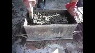видео Как заливать фундаментные блоки