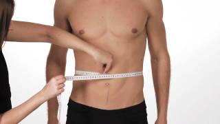 How to take Body Measurements - Men / LazyLazy.com