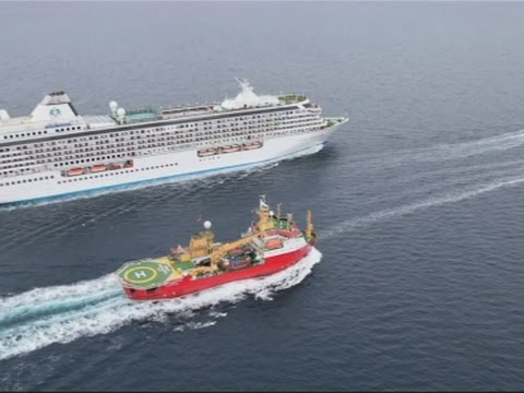 Melting Arctic Clears Way for Giant Cruise Ship