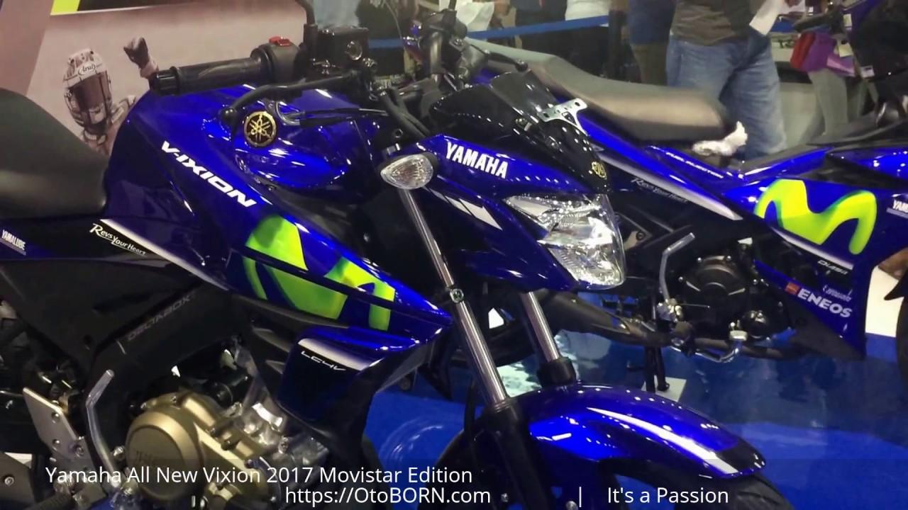 Yamaha All New Vixion 2017 Movistar Edition YouTube